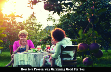 Top 5 Proven way gardening is good for you