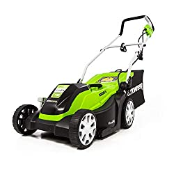Greenworks 14 inches 9 Amp Corded Electric Lawn Mower