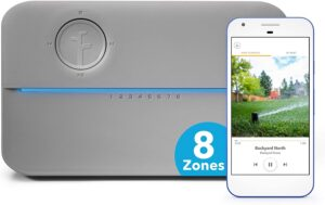 Rachio 8ZULWC-L R3e Generation Smart 8 Zone Sprinkler Controller