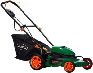 Scotts Outdoor Power Tools 20 Inch Steel Corded Electric Lawn Mower