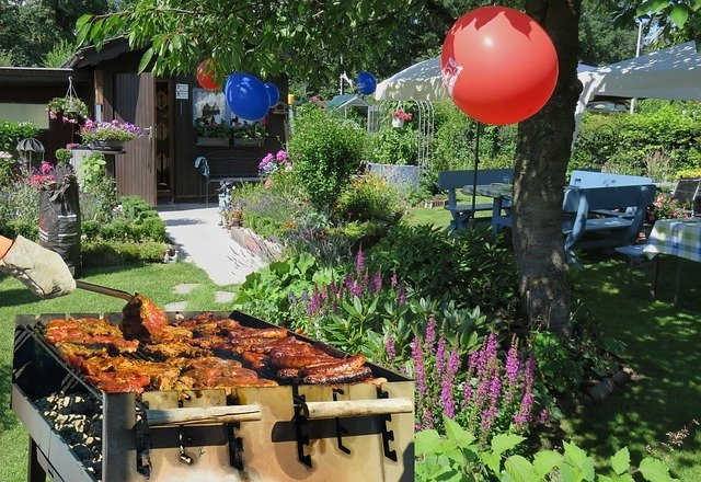 How To Set Up A Garden Party