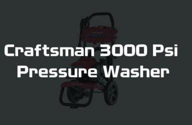 Craftsman 3000 Psi Pressure Washer Reviews