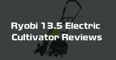 Ryobi 13.5 Electric Cultivator Reviews: